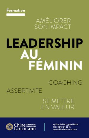 Flyer LeadershipAuFeminin