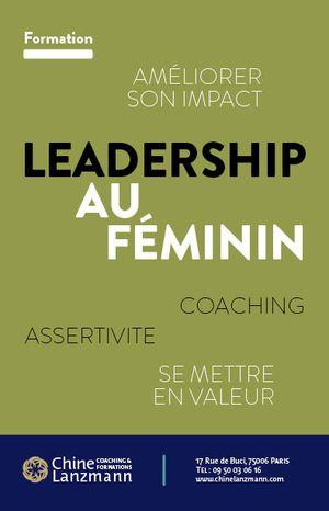 Flyer LeadershipAuFeminin